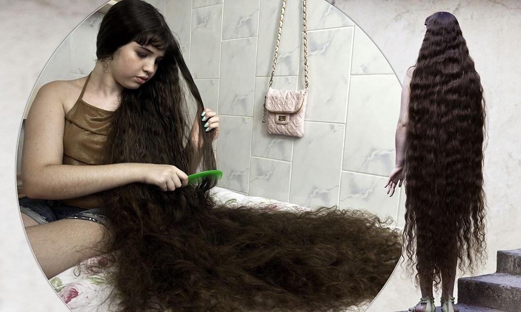 Natasha Moraes De Andrade Real Life Rapunzel 12 Cuts