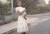 Cold case: Melonie Biddersingh, 17, pictured in her native Jamaica, has been identified as the body found in a suitcase in Ontario in 1994