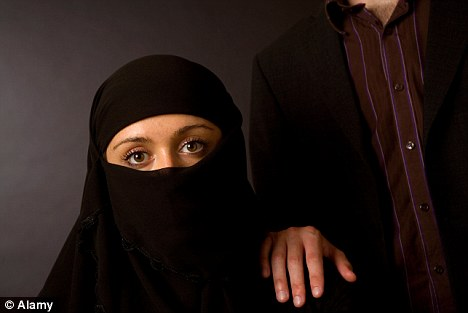 Dishonour: The report highlighted the worrying scale of violence suffered by many women in conservative Muslim Pakistan