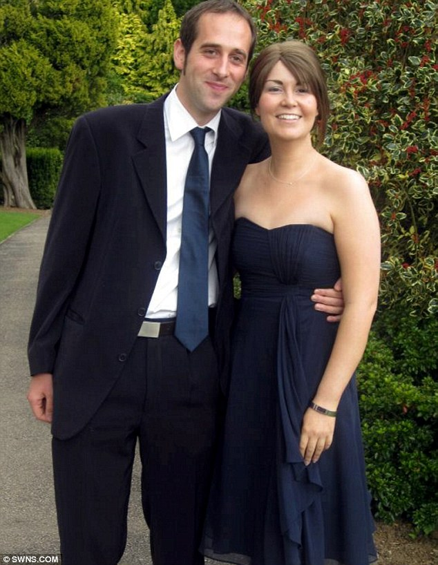 Tragic story: Jemma Webb, 32, from Exeter, Devon, was due to wed  Alex Bradford, 30, at a beautiful country house next month but the date  was brought forward as her condition worsened