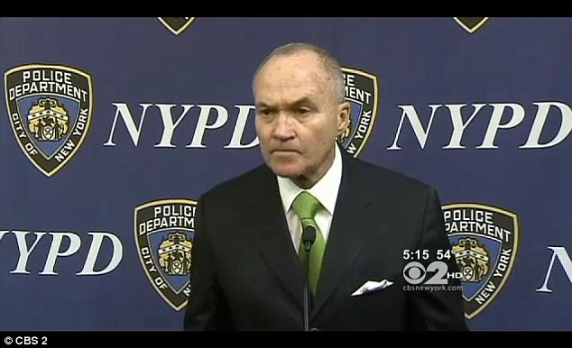 Evidence: 'In there background there are voices saying you're not going to get out of here alive,' New York City Police Commissioner Raymond Kelly told reporters on Friday