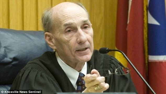 Judge Jon Kerry Blackwood, pictured, has been appointed to hear the disgraced judge's cases. He has already overturned the convictions of four people found guilty for a 2007 double murder