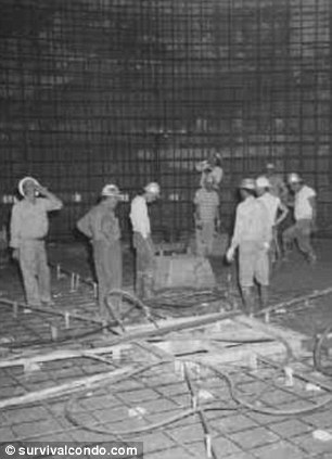 Building for our future: These workers never knew they might be building humanity's last holdout