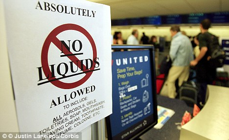 Controversial: The former head of the TSA has argued that passengers should be able to take almost anything onboard including liquids and lighters