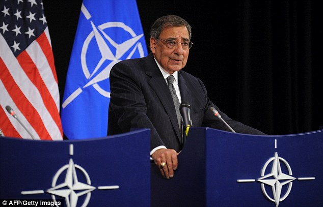 'Foolish behavior': U.S. Defense Secretary Leon Panetta strongly condemned the pictures today after he appeared during a joint press conference with U.S. Secretary of State in Brussels