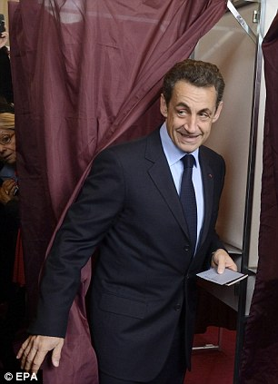 It's done! Sarkozy, defending his record on the campaign trail, has repeatedly pointed to a tough economic climate and debt troubles across Europe - not just in France