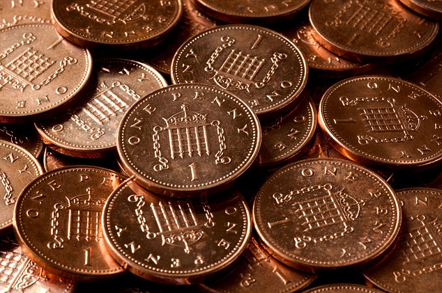 Image result for pennies uk