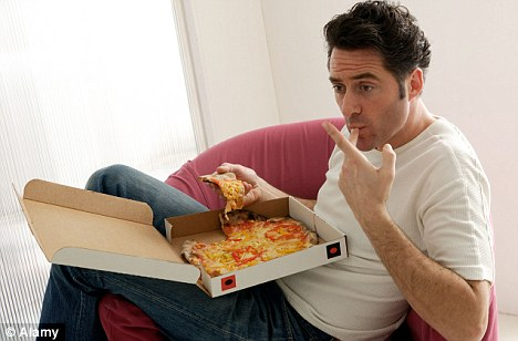 It may not be low in calories, but pizza does contain an element that could help fight prostate cancer