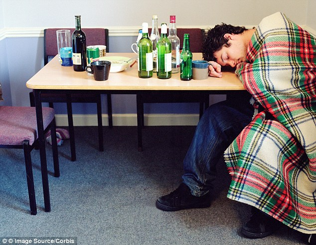 Overload: Research, published in The Lancet, suggests the adolescent brain is ill-equipped to deal with the effects of drinking and drug-taking and less able to assess risk