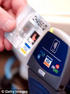 Insecure: Radio frequency identification (RFID), transmits bank details via its own radio signal and could be a fraud risk