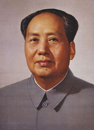 Chairman Mao, a Communist leader of China, also used the slogan Forward