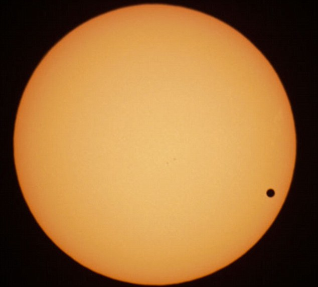 Venus transits in front of the sun in 2004: The orbits of the two planets are angled oddly, so the next transit won't be until 2117