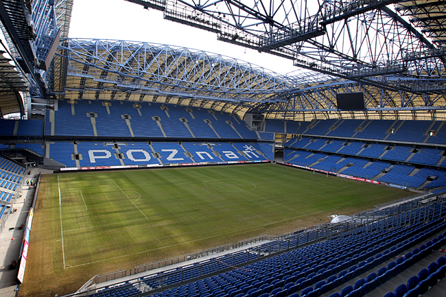 City Stadium, Poznan - 40,000 capacity