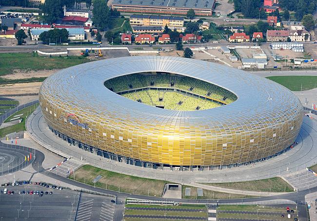 PGE Arena, Gdansk - 40,000 capacity