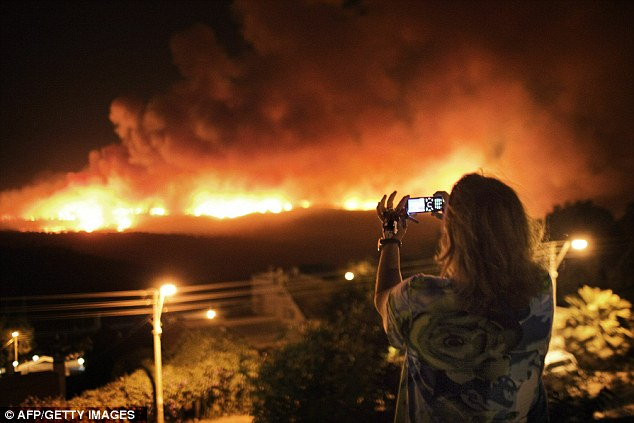 Forty people died in a forest fire in the hills around Haifa in 2010: Al Qaeda wants to unleash a similar level of destruction on the U.S according to the latest edition of 'Inspire'