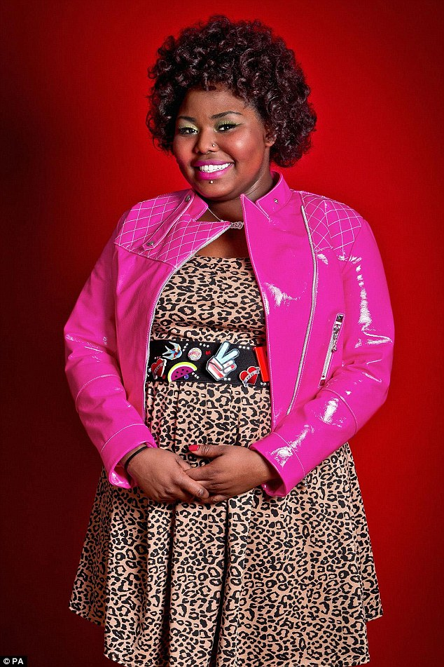 Ruth Brown (pictured), from the game show The Voice speaks out about bullying on Twitter