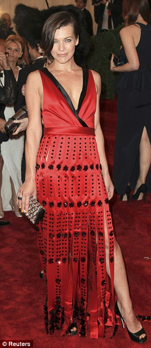 Fashion change: Milla Jovovich, Brooklyn Decker and Chloe Sevigny all attended the Met Ball