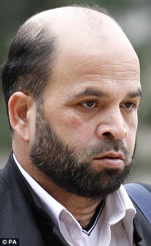 pervert muslim religious teacher at mosque. rapist and paedophile by night Abdul Rauf has been found guilty of conspiracy and trafficking for sexual exploitation