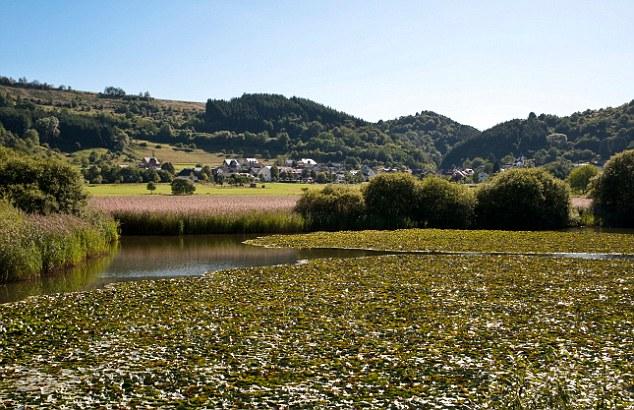 """Cientistas do Centro de Investigação GFZ alemão para Geosciences analisados sedimentos de lagos em Lake Meerfelder Maar, e encontraram evidências diretas de um arrefecimento brusco causado por um """"mínimo solar"""""""
