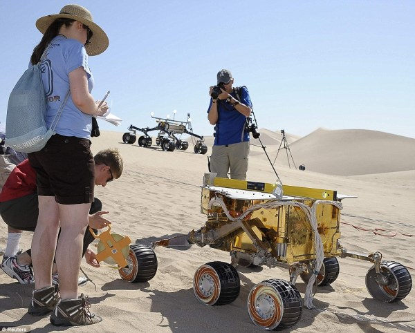 Mission to Mars Nasa tests Curiosity the next