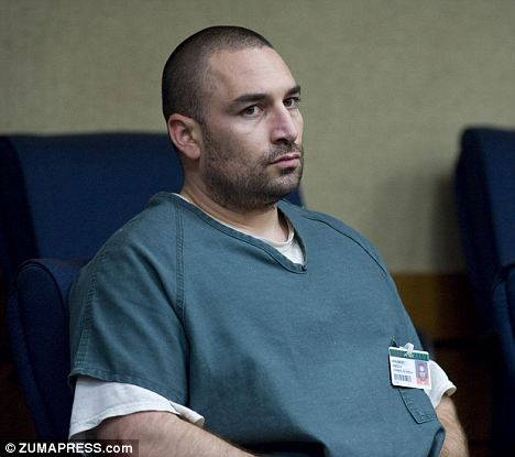 Insane: Anthony Orban, 33, claims that his anti-depressants and PTSD lead to him having a temporary break from reality during the 2003 rape