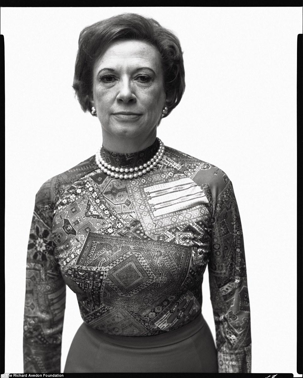 Rose Mary Woods, secretary to President Richard Nixon, Washington, D.C., August 10, 1975