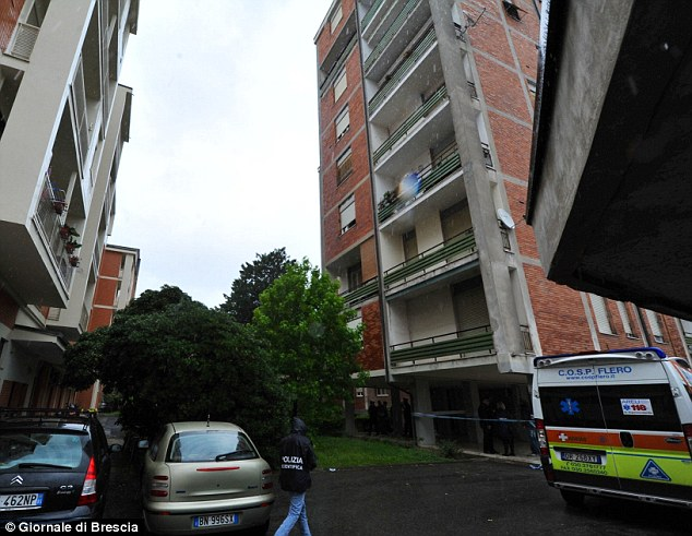 Height: The apartment block where the tragedy happened