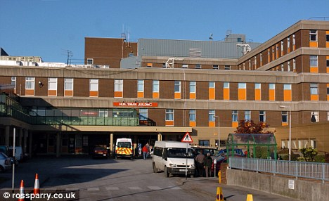 Criticised: Joan Wood's daughter claimed the standard of care given to her mother at Northern General Hospital (pictured) was not good enough