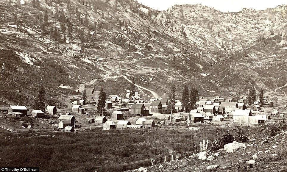 Valley view: Alta City, Little Cottonwood, Utah, in 1873