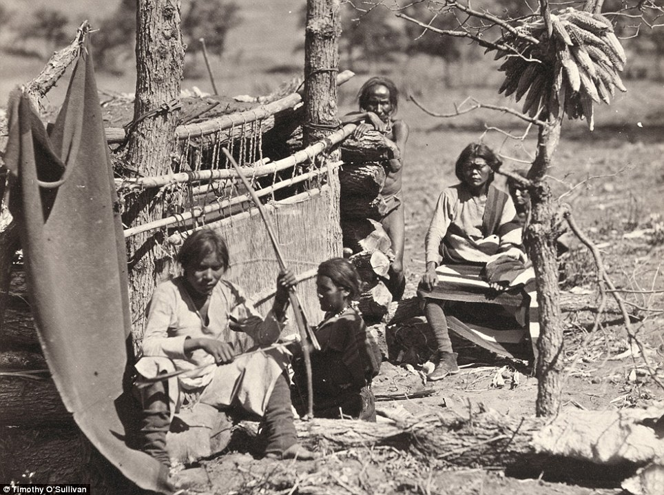 Insight: Aboriginal life among the Navajo Indians. Near old Fort Defiance, New Mexico, in 1873