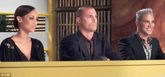 Old judges: The blogger's involvement comes after the show's creator Tyra Banks, left, dumped Nigel Barker, middle, and Jay Manuel, right. It is unclear what role the new recruit will play in the reality series, which has reached its 19th season