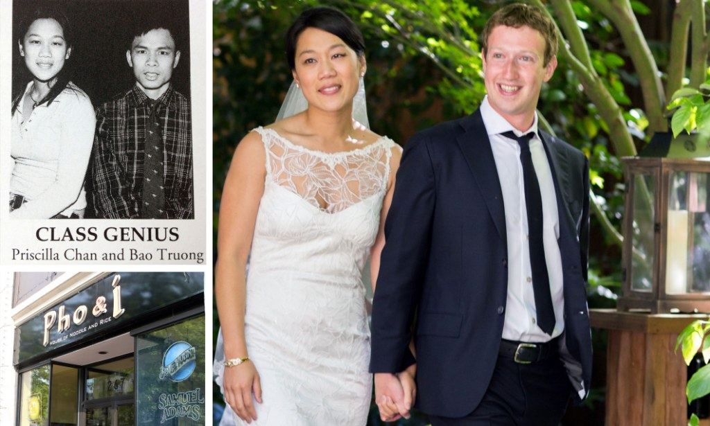 American dream rise of £12 billion Facebook bride: Father of Zuckerberg's new wife was Asian refugee who worked 18-hour days in Chinese takeaway