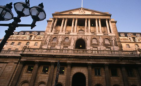 Decision makers: The Bank of England decides on rates