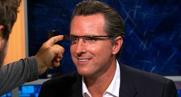 'I have some hopes to maybe get it out sometime next year,' said Brin in an interview with Current TV host Gavin Newsom