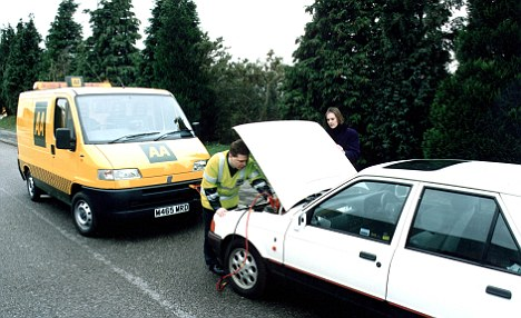 Key players: AA and RAC are the most well-known providers of breakdown cover