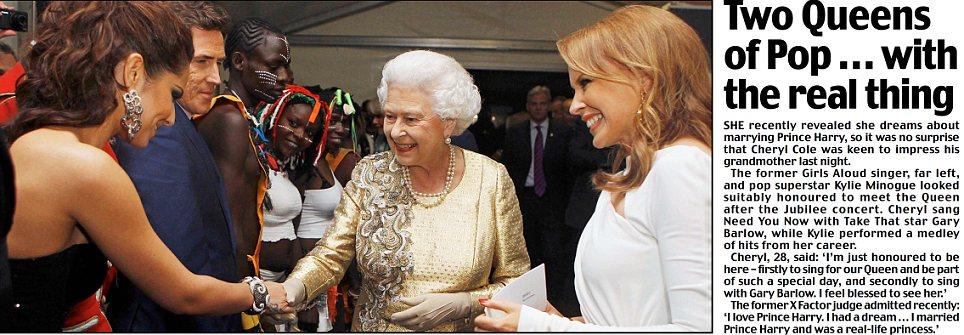 Two Queens of Pop