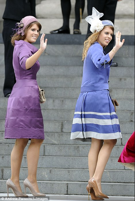 Princess Eugine and Princess Beatrice