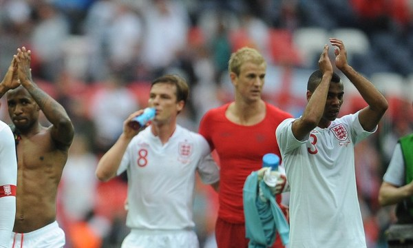 Euro 2012: All 23 players report for England training ...