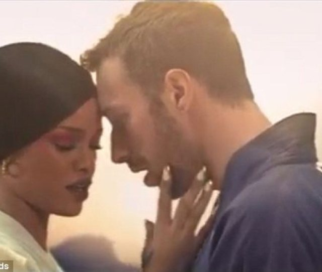 Love Me Tender Rihanna Can Be Seen Stroking Chris Face As He Gazes Adoringly
