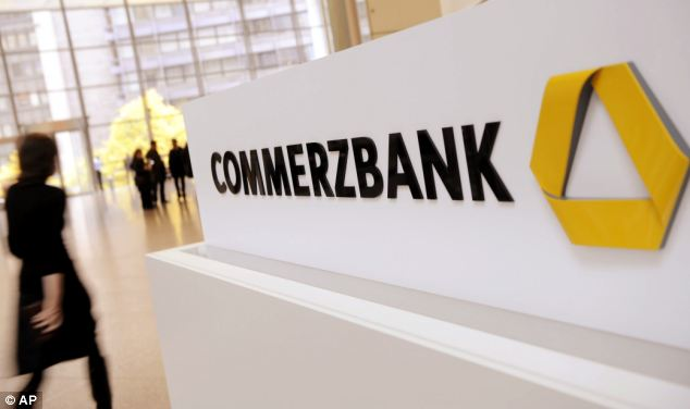 Commerzbank AG, Germany's second biggest bank, has had its rating downgraded by Moody's from A2 to A3
