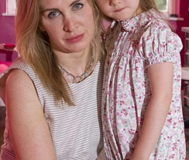 Every Parents Nightmare Tanith Carey With Her Seven Year Old Daughter Clio