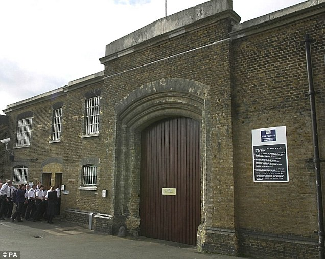 Affairs: Brixton Prison, south London, where Zanib Khan shared racy phone calls letters with two convicts as well as a third in an open prison