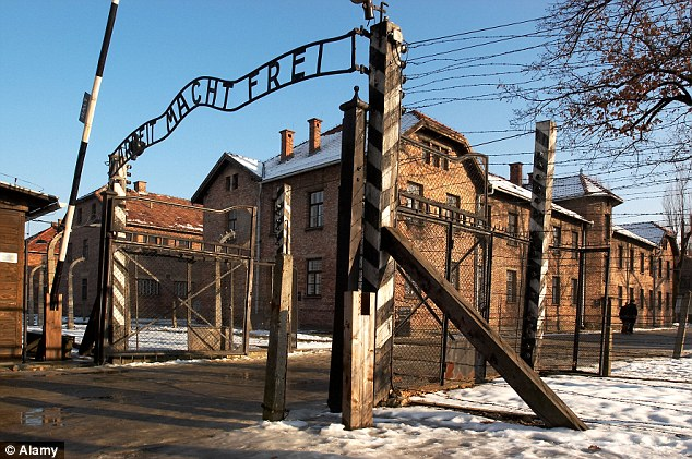 Horrific memories: Auschwitz was one of the main concentration camps, out of a total of 48, that held millions of Jewish, Polish and Romanian people