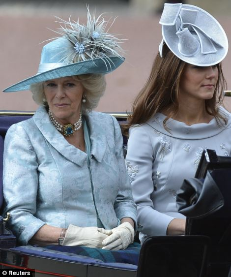 Camilla and Kate