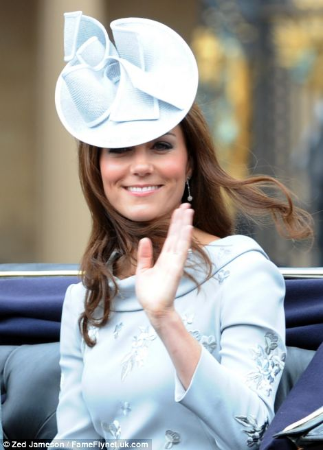 Waving Kate