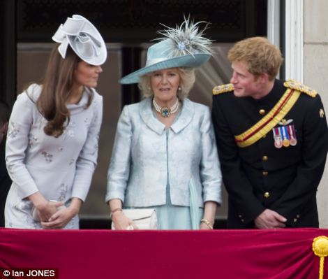 Kate, Camilla, Harry