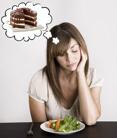 According to research women think about food more than 200 times a day