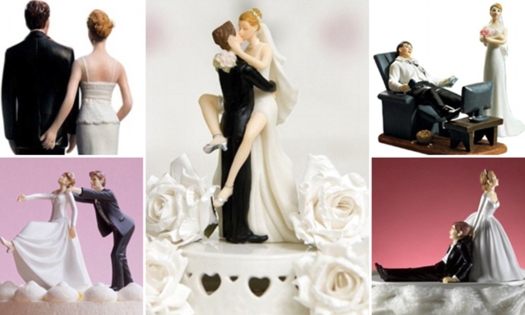 Are These The Most Inappropriate Wedding Cake Toppers