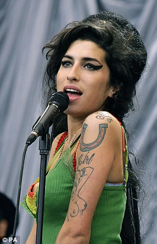 Untimely death: High levels of alcohol were found in Amy's system