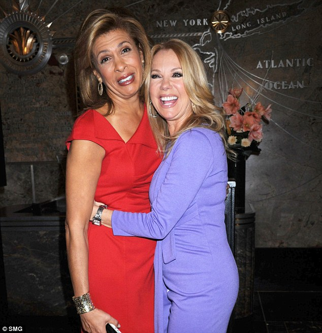Hoda Kotb and Kathie Lee Gifford who currently host the fourth hour of the Today show together
